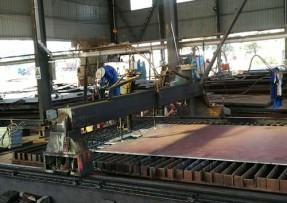 钢材加工等离子切割