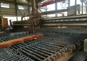 钢材加工剪板机